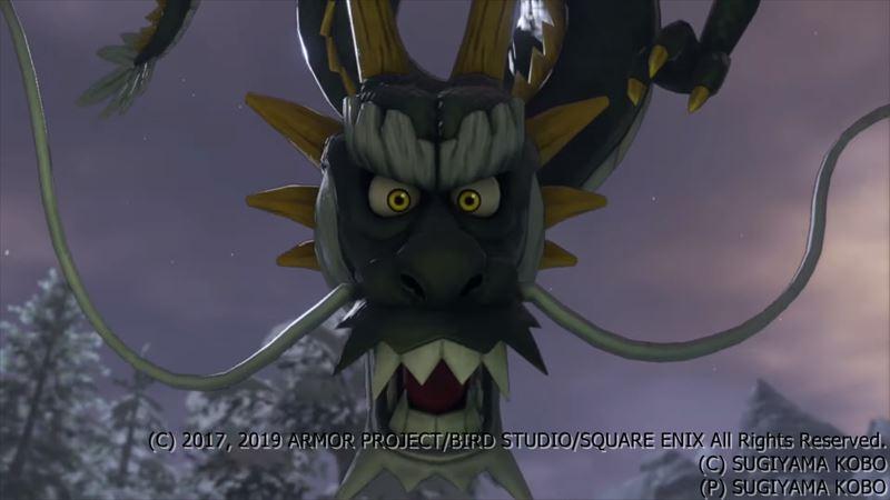 魔竜ネドラ│ドラクエ11Sボス戦攻略│オールしばりプレイ